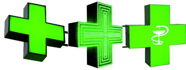 аптечный крест светодиодный Хмельницкий