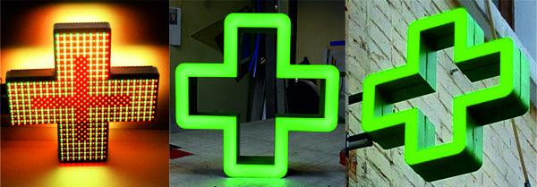 аптечный крест с анимацией