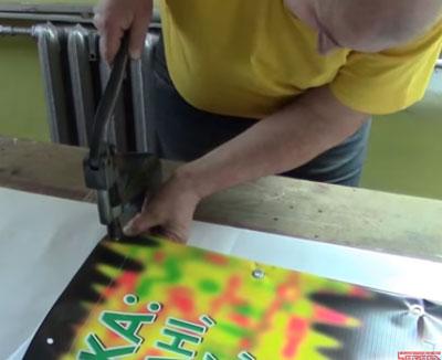 печать баннеров +с люверсами