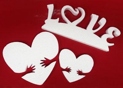 Фигурки к Дню влюбленных