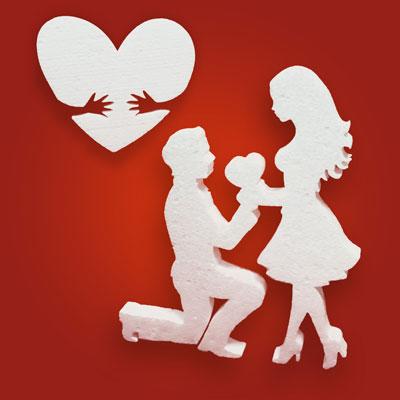 Декор из пенопласта ко Дню св Валентина