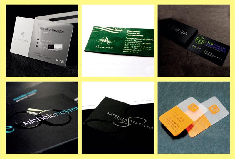 шелкотрафаретная печать визиток