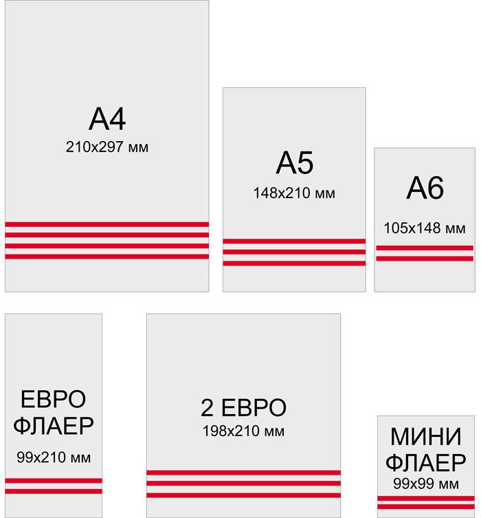 Полиграфия Хмельницкий формат листовок