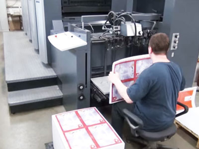 Офсетная печать листовок и флаеров